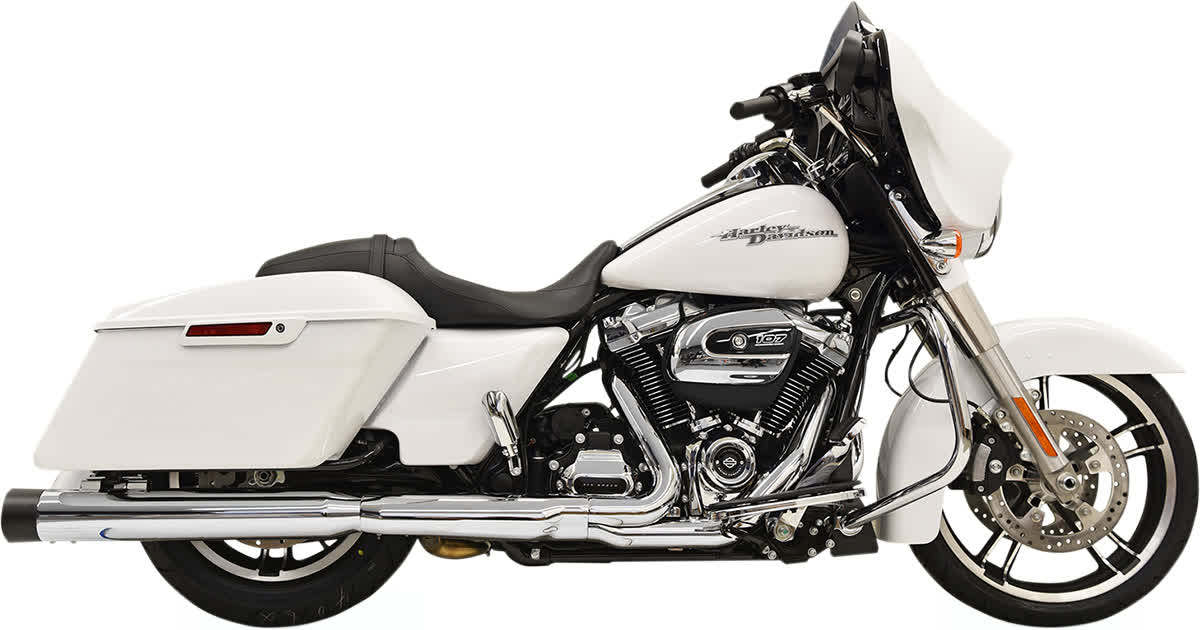 """Bassani 1F72DNT5 4"""" DNT Straight Can Muffler with Acoustically Tuned Baffle"""