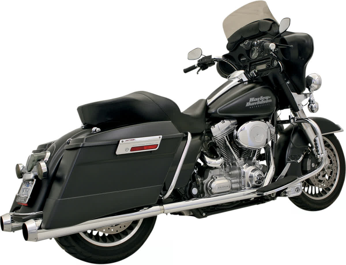 Bassani 11215A Power Curve True-Dual Crossover Header Pipes