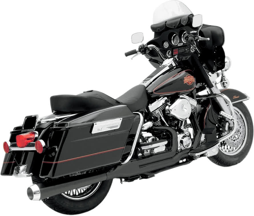 Bassani HS-FLH-637CLB Heat Shields for 2-Into-1 Exhaust System