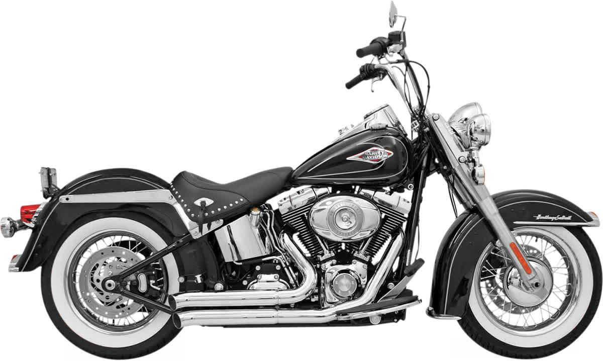 Bassani 12113D FireSweep Exhaust System Chrome