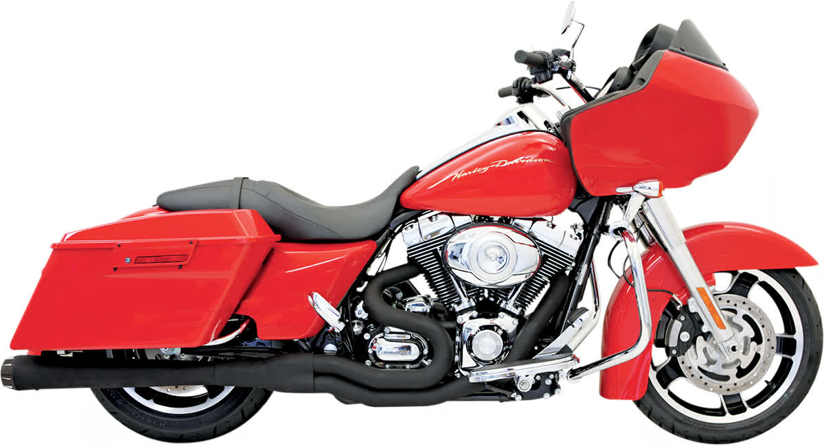 Bassani FLH-767B Road Rage II Mega Power Exhaust System
