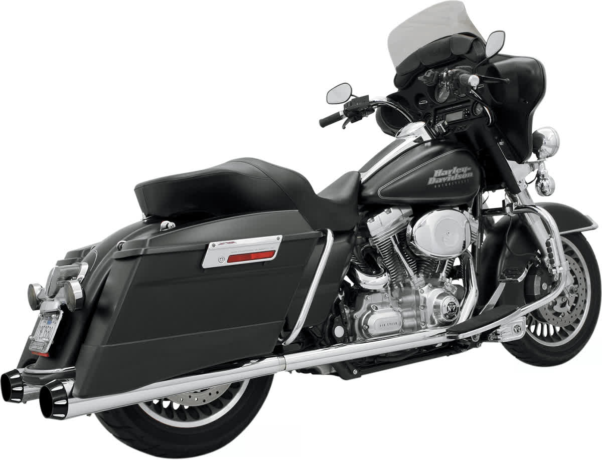 Bassani 1F46R +P Stepped True-Duals Exhaust System