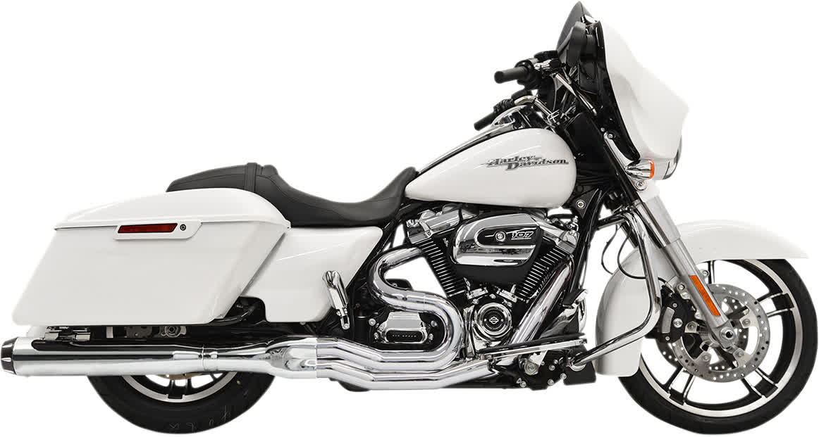Bassani 1F58R B4 Straight Exhaust System Chrome