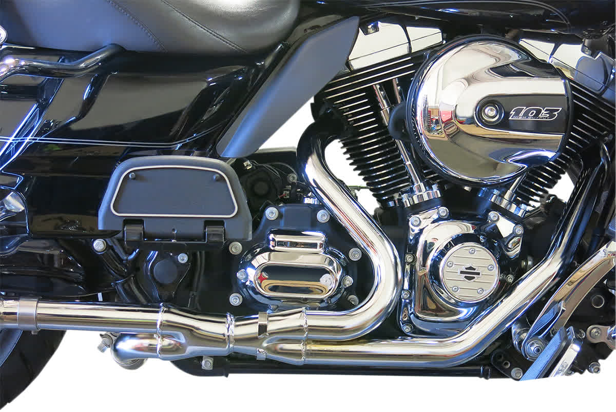 Bassani 1F14A 2x2 Dual Headpipes Chrome