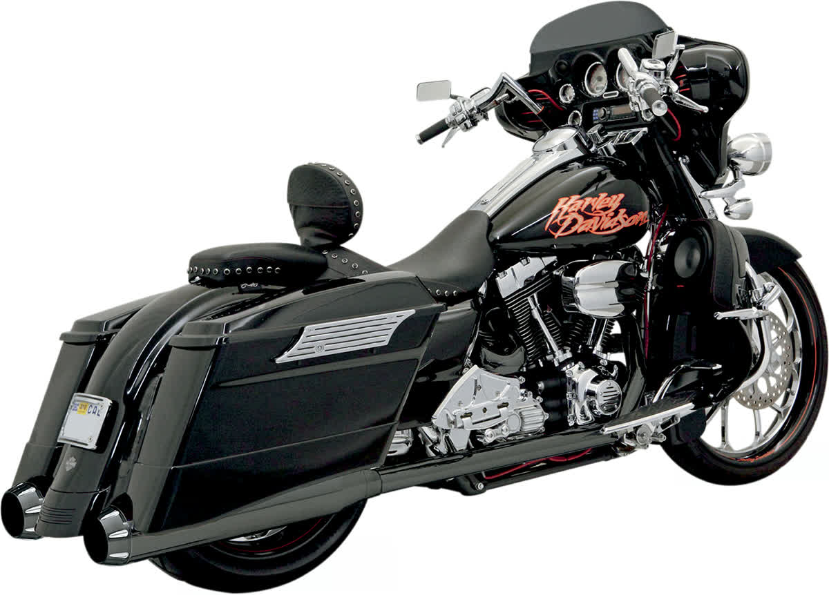 Bassani 1F56RB +P Stepped True-Duals B1 Exhaust System