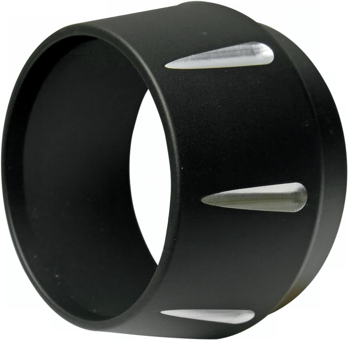 Bassani BESMR Replacement Megaphone Style End Cap Black