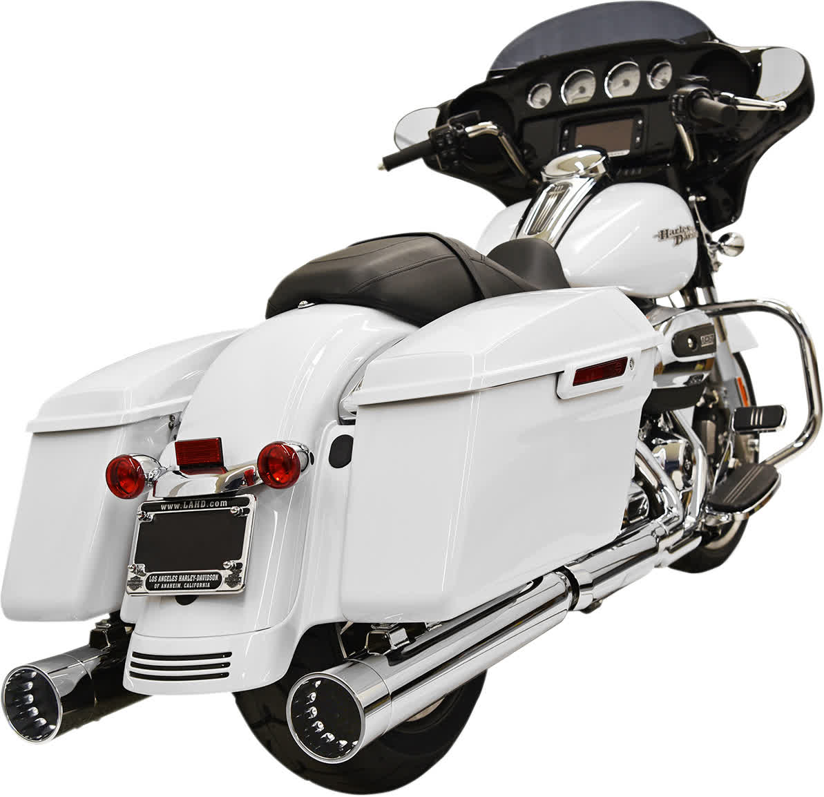 """Bassani 1F72DNT6 4"""" DNT Straight Can Muffler with Acoustically Tuned Baffle"""