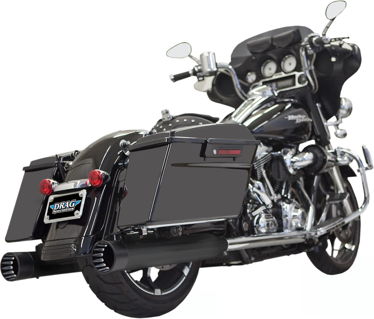 """Bassani 1F7DNT5B 4"""" DNT Straight Can Muffler with Acoustically Tuned Baffle"""