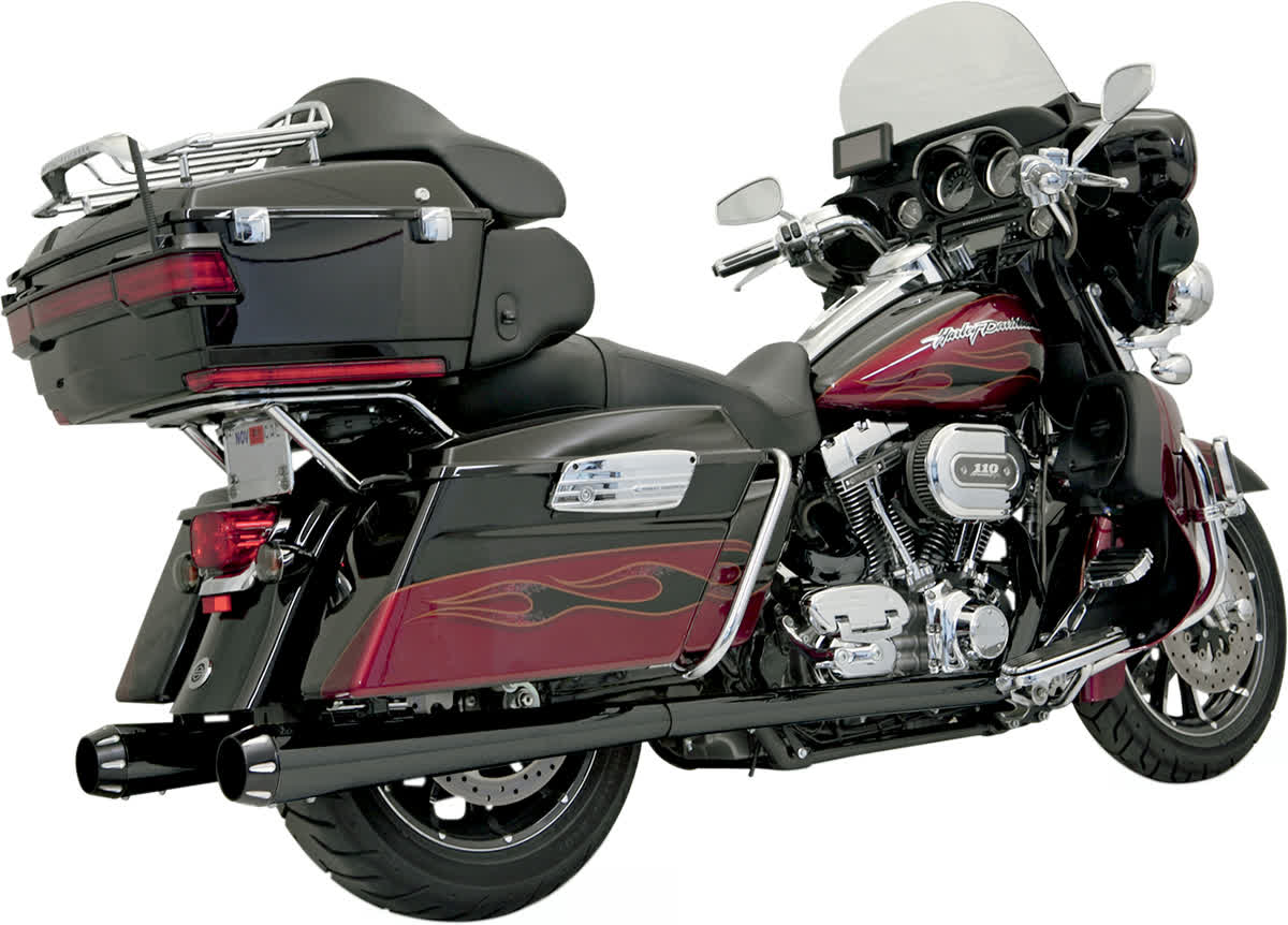 Bassani 1F46RB +P Stepped True-Duals Exhaust System