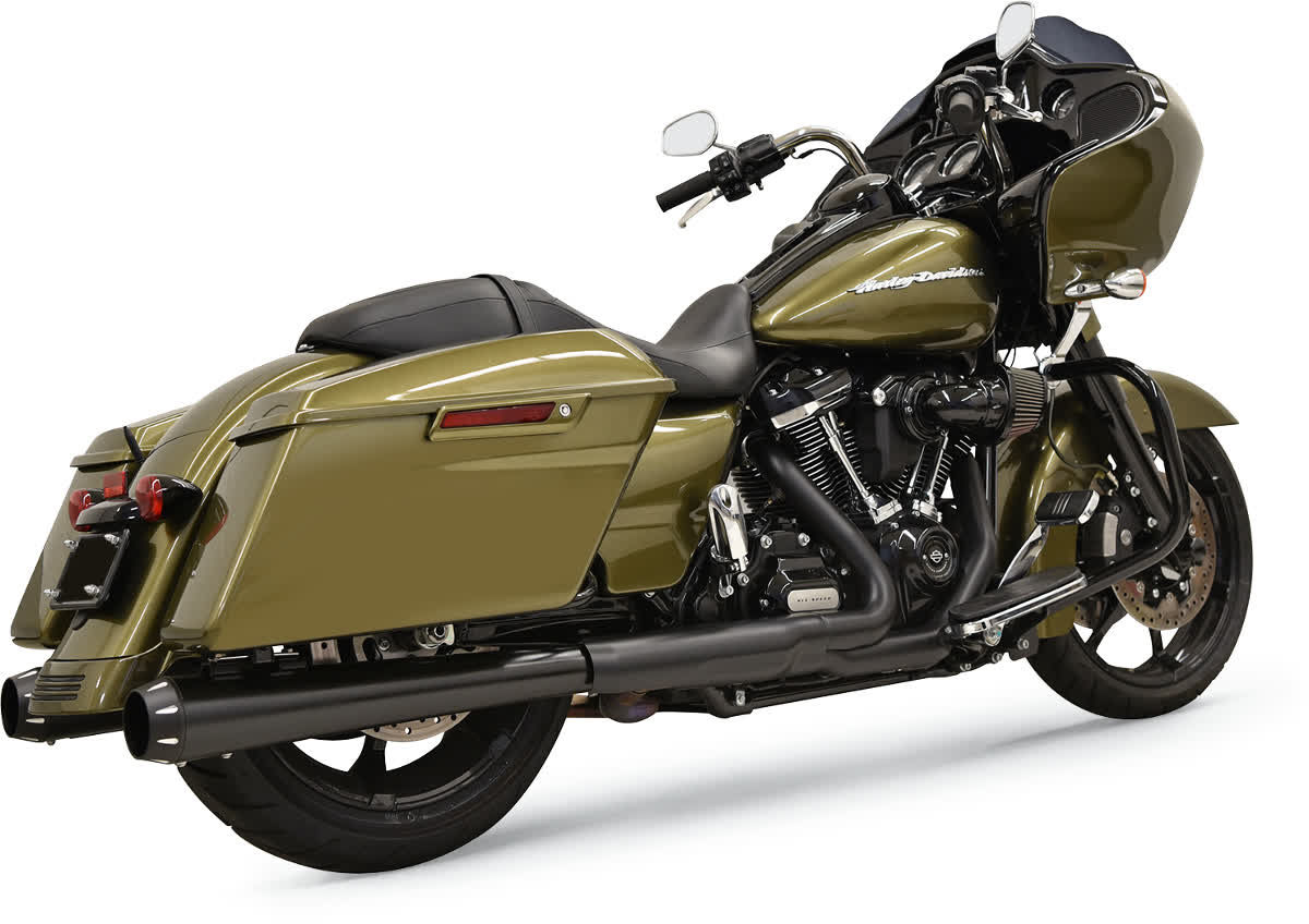 """Bassani 1F572DNT5B 4"""" DNT Megaphone Muffler with Acoustically Tuned Baffle"""