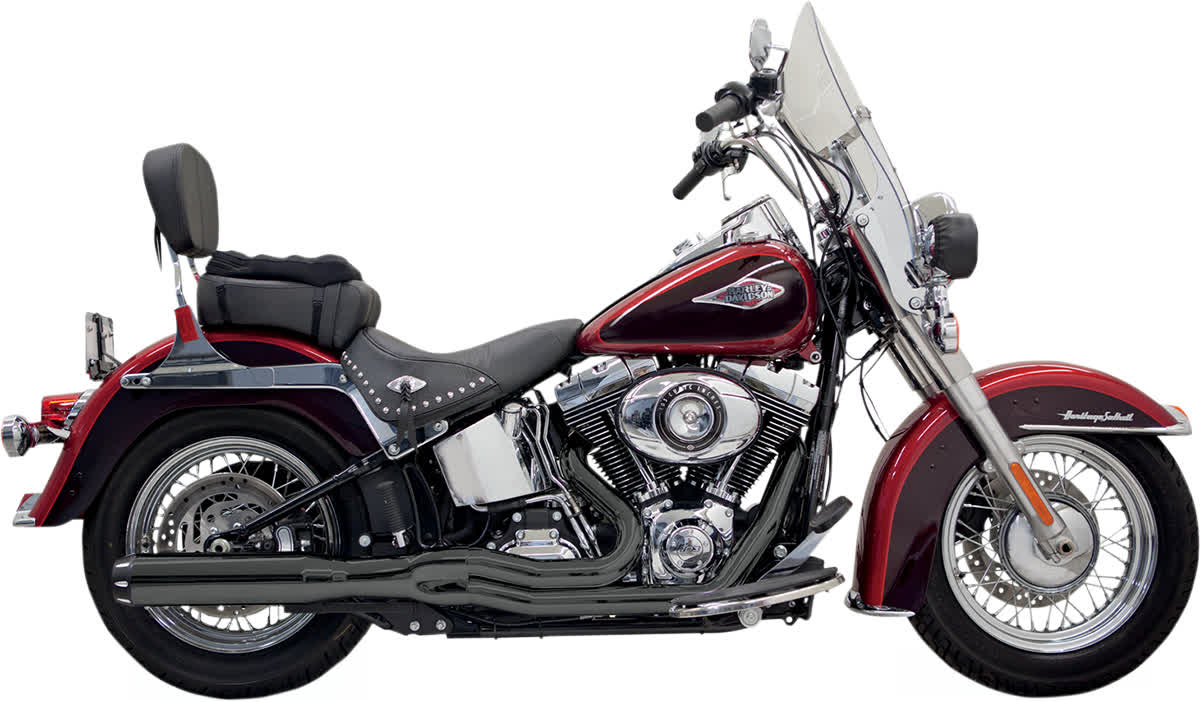 Bassani 1S18RB Road Rage II B1 Power Exhaust System with Heat Shields