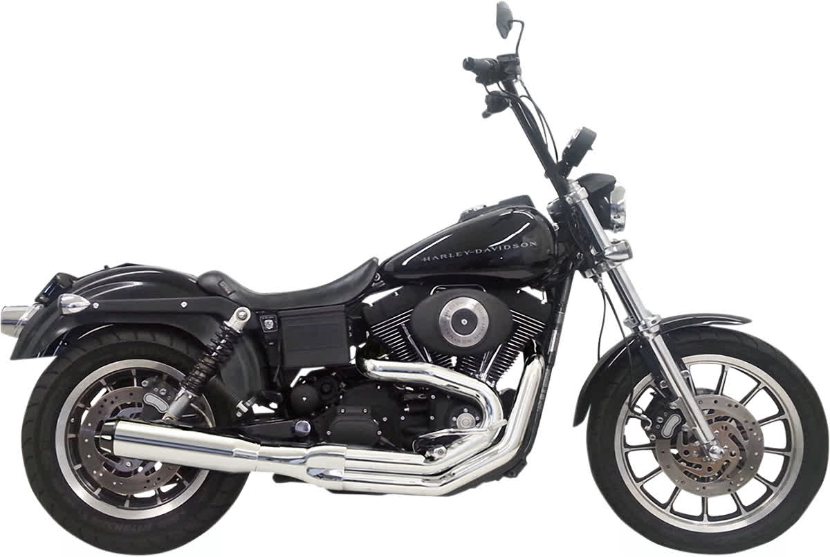 Bassani 1D48R Road Rage 2:1 Straight Can Exhaust System