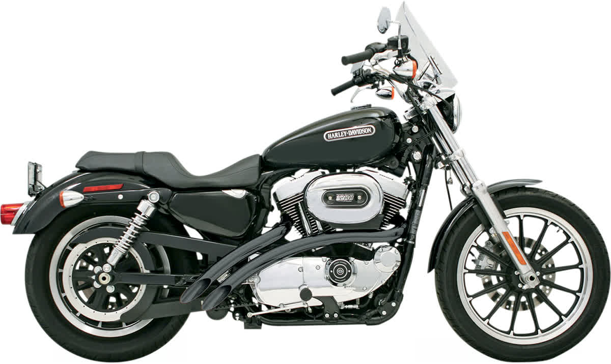 Bassani XL4-FF12CLB Radial Sweepers Exhaust System