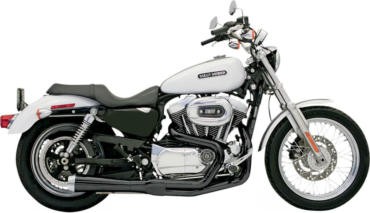 Bassani 14222J Road Rage 2:1 Short Upswept Megaphone Exhaust System