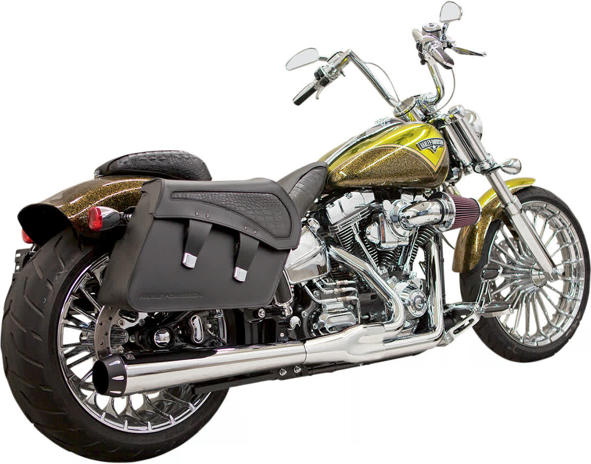 Bassani 1S31R Road Rage 2:1 Exhaust System Chrome Long