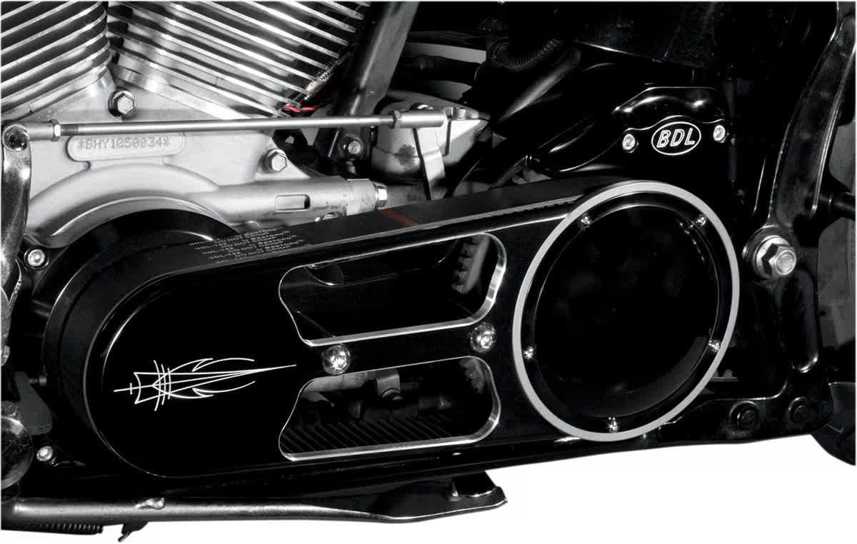 "Belt Drives Ltd EV-575-B 2"" Open Belt Drive Black"