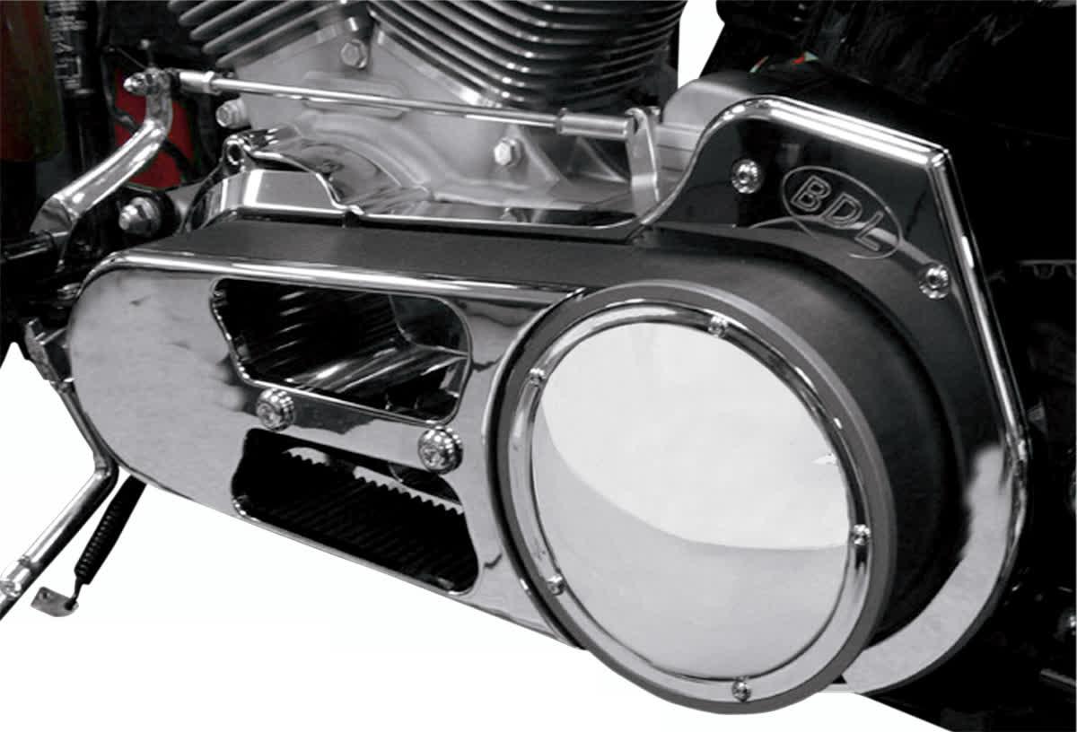 "Belt Drives Ltd EVO-8S 2-3/4"" Open Belt Drive Polished"