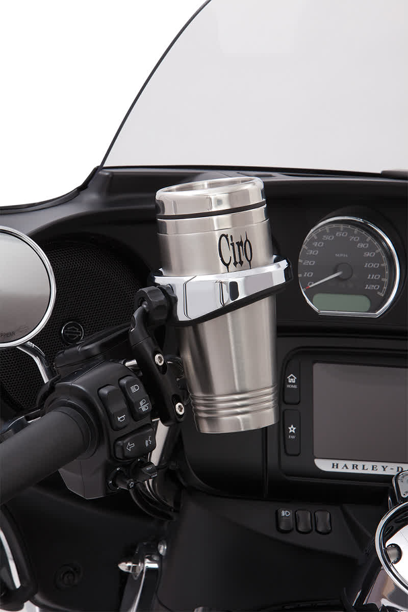 Ciro 50511 Cup Holder with Perch Mount  Black