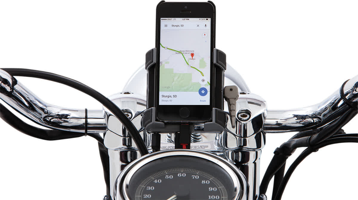 Ciro 50314 Smartphone Holder without Charger Handlebar Mount
