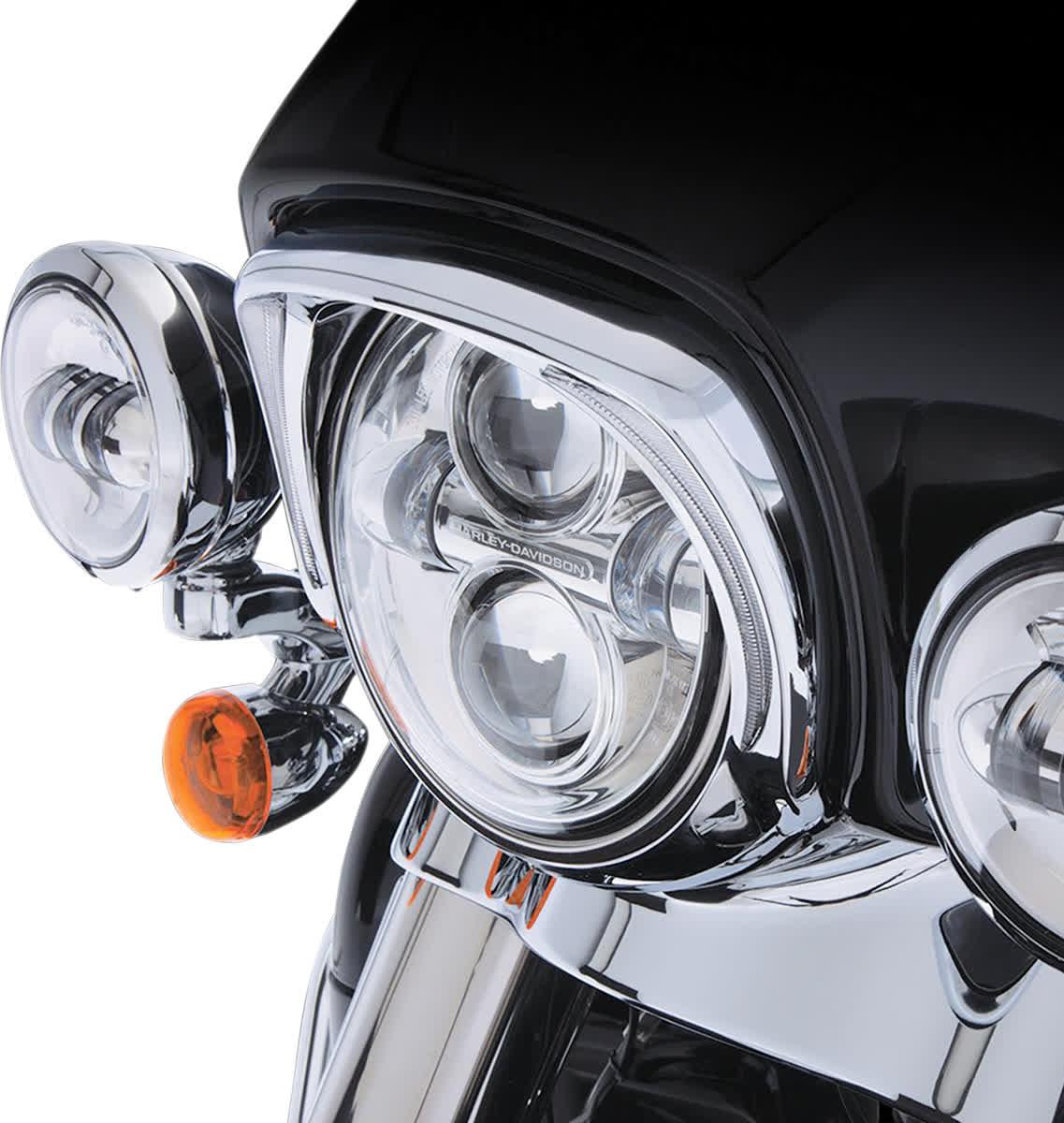 Ciro 45200 Headlight Bezel  Chrome