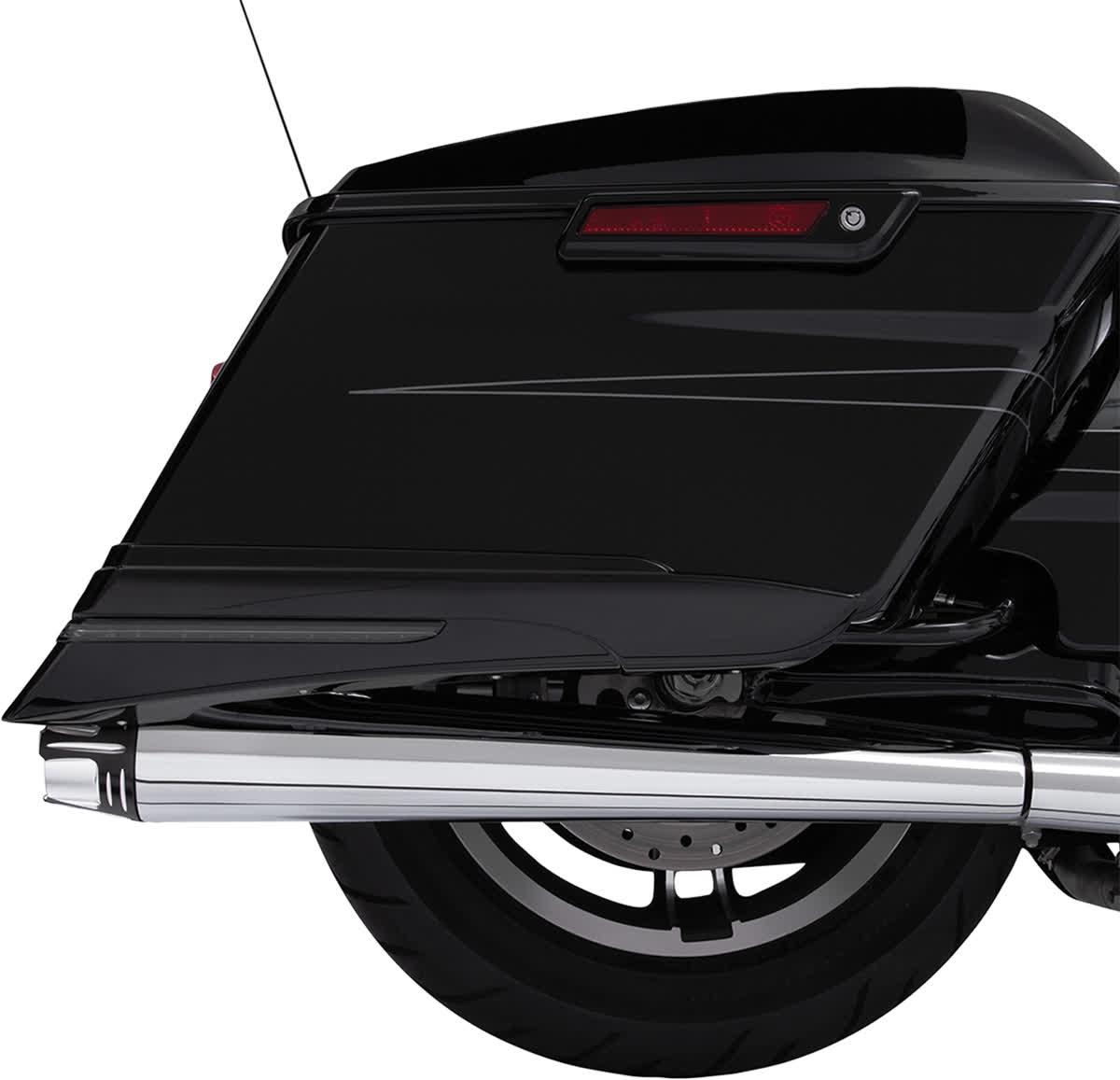 "Ciro 31210 4"" Slip-On Muffler End Caps  Diffuser Black"