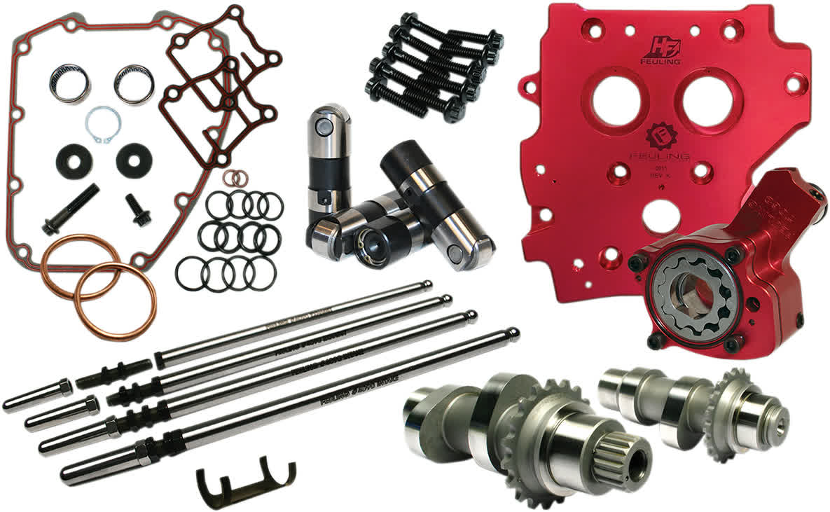 Feuling 7225 Race Series Camchest Kit Conversion 594C Chain Dive 99-07