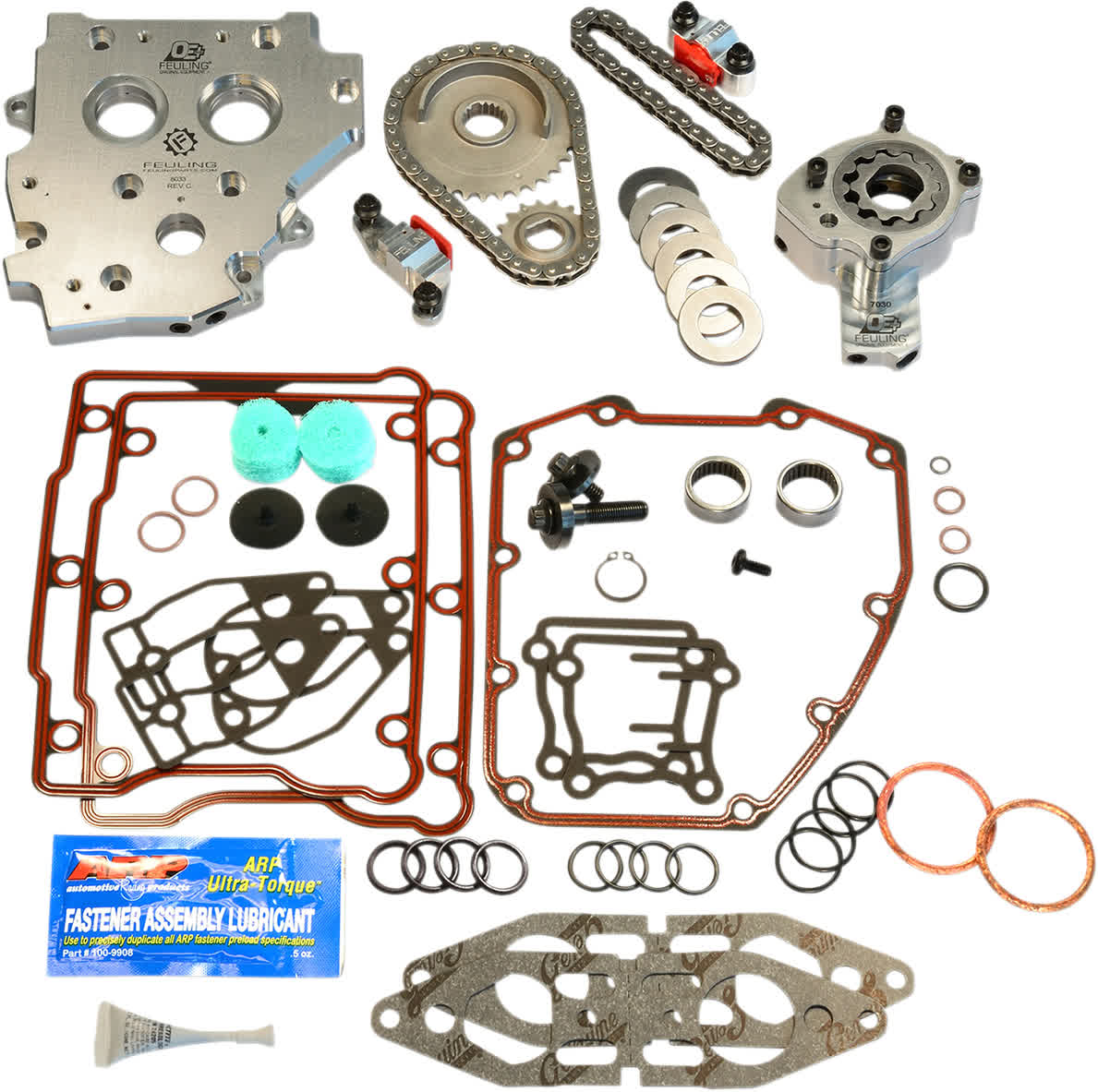 Feuling 7087 OE Hydraulic Cam Chain Tensioner Conversion Kit 99-01