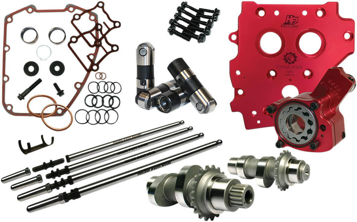 Feuling 7235 Race Series Camchest Kit 594C Chain Drive 07-17 Tc