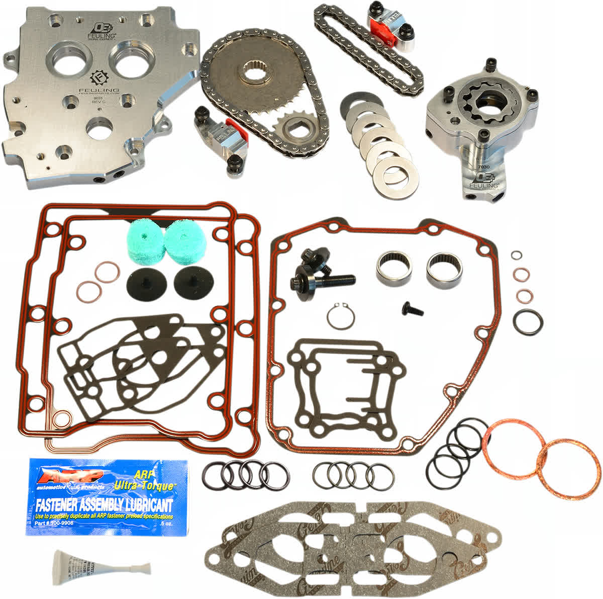 Feuling 7088 OE Hydraulic Cam Chain Tensioner Conversion Kit 02-06