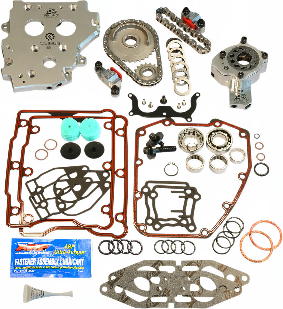 Feuling 7089 OE Hydraulic Cam Chain Tensioner Conversion Kit 99-01