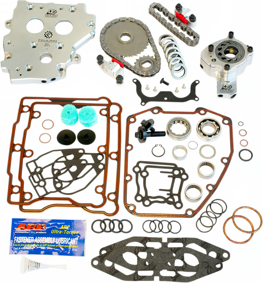 Feuling 7090 OE+ Hydraulic Cam Chain Tensioner Conversion Kit 99-06