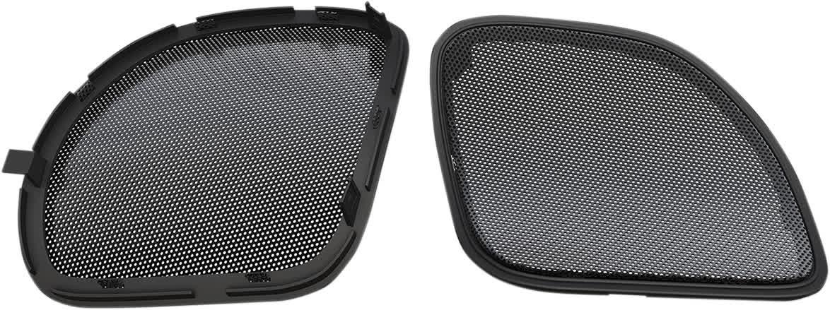Hogtunes RG RM GRILL Speaker Grill w/Black Trim Harley 15-'19 FLTR 4405-0377