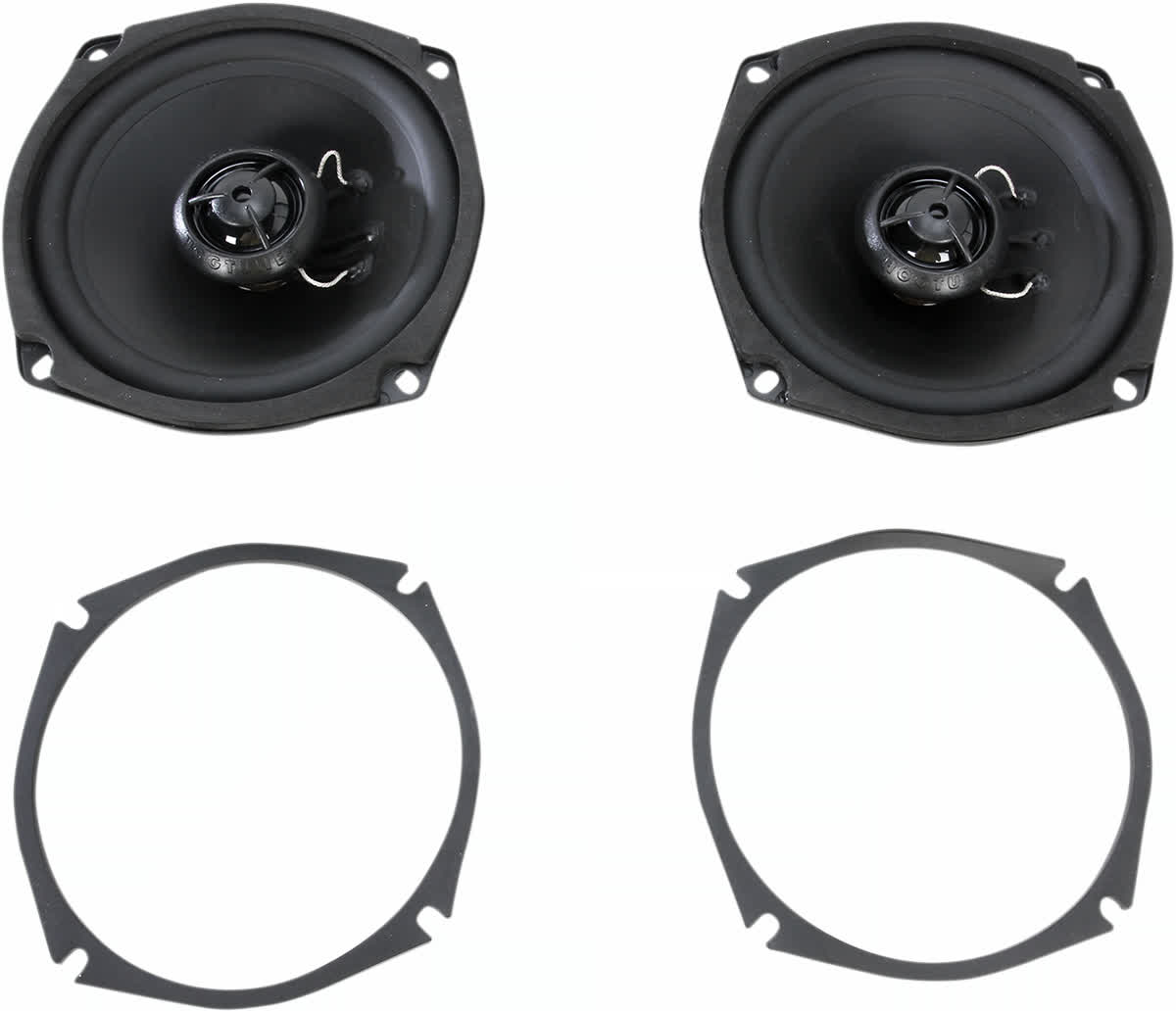 Hogtunes 356F 5.25in. Replacement 6 ohm Front Speaker Harley 4405-0327