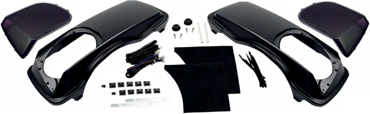 Hogtunes HT-LID Saddlebag Speaker Lid Kit for 1998-'13 Touring Models 4405-0290