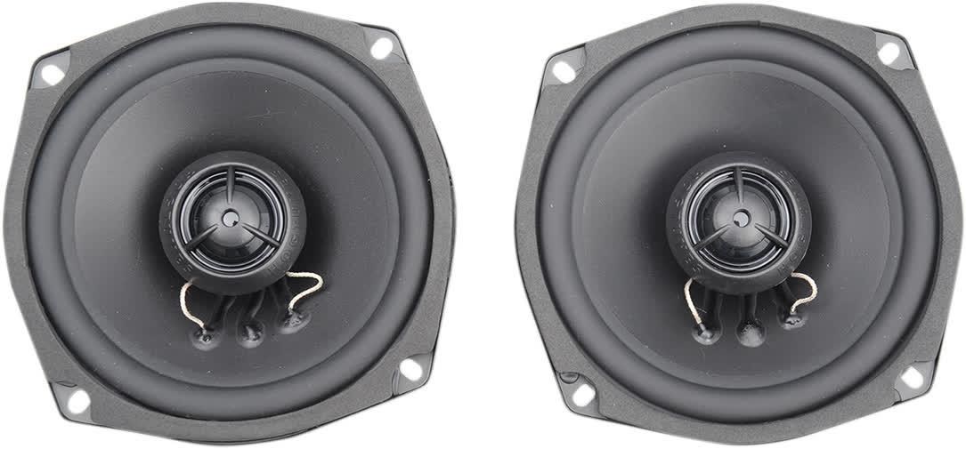 Hogtunes 356R 5.25in. Replacement 6 ohm Rear Speaker Harley 4405-0328