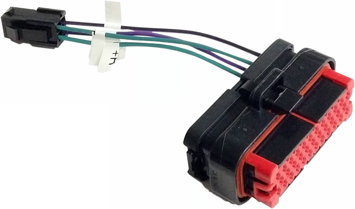 Hogtunes RR PLUG-AA Rear Speaker Output Plug-Adapter 06-'13 FLH 2120-0771