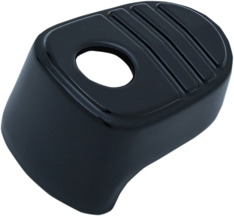Kuryakyn - 6985 - Tri-Line Ignition Switch Cover, Black