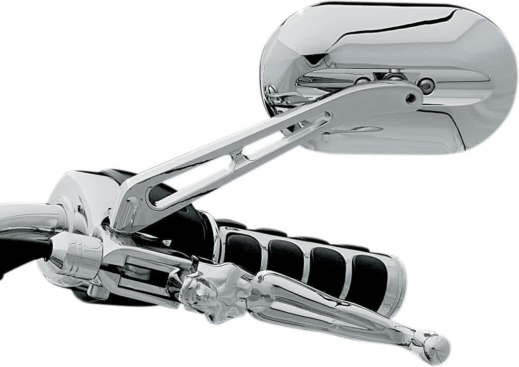 Kuryakyn - 1430 - Magnum Mirrors, Large Head -Standard Stem