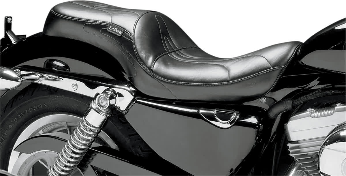 Le Pera LCK-906 Sorrento Series Stitch 2-Up Full Length Seat
