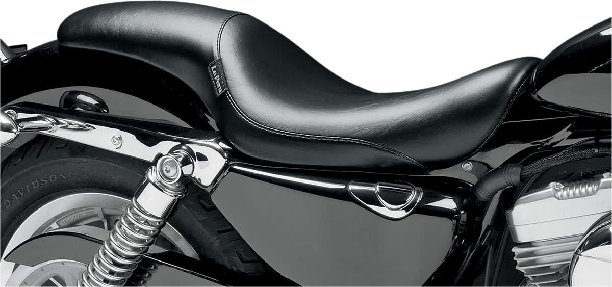 Le Pera LCK-866 Silhouette Smooth Full Length Seat