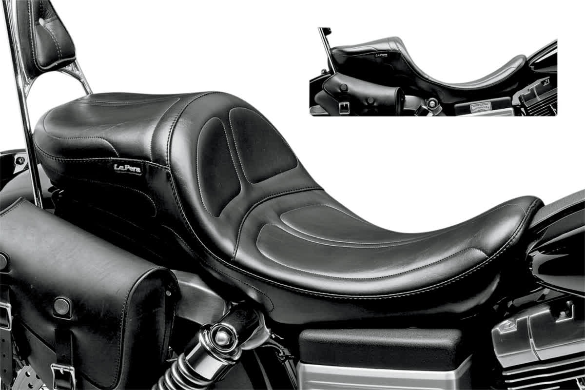 Le Pera LK-970DL Maverick Daddy Long Legs Stitch Seat