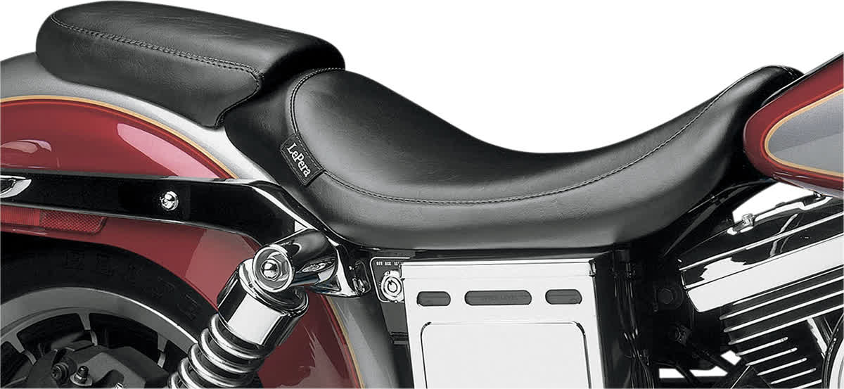 Le Pera LGK-001P Bare Bones Smooth Pillion Pad with Biker Gel