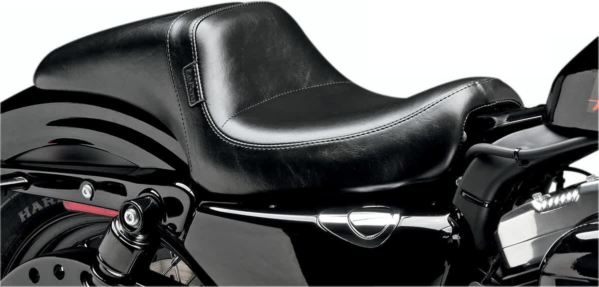 Le Pera LK-542 Daytona Seat Smooth Black