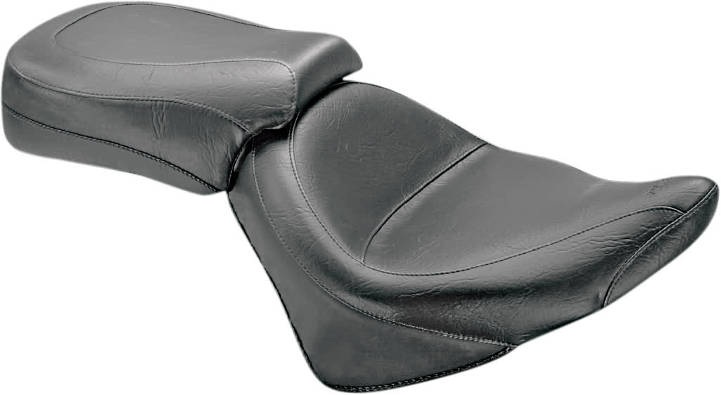 Mustang 76511 Wide Two-Piece Touring Seat Plain