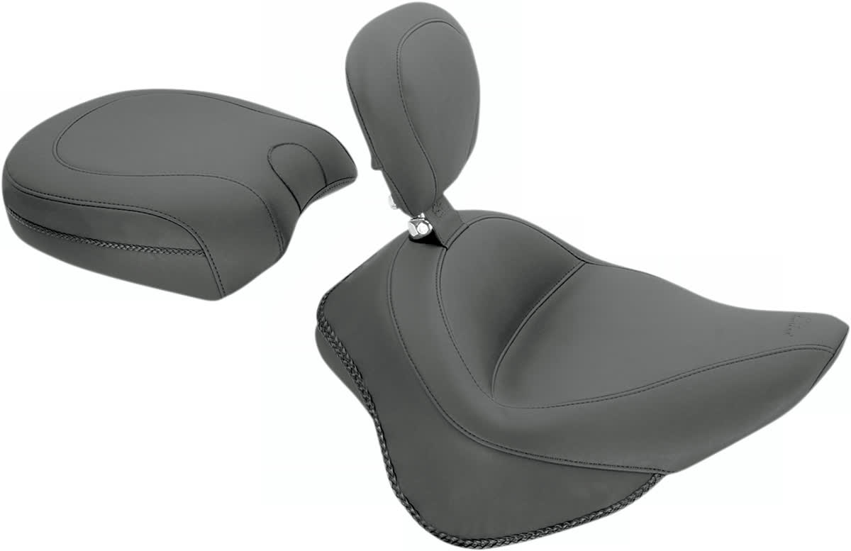 Mustang 79743 Wide Rear Solo Seat Only for use with Removable Backrests Vintage