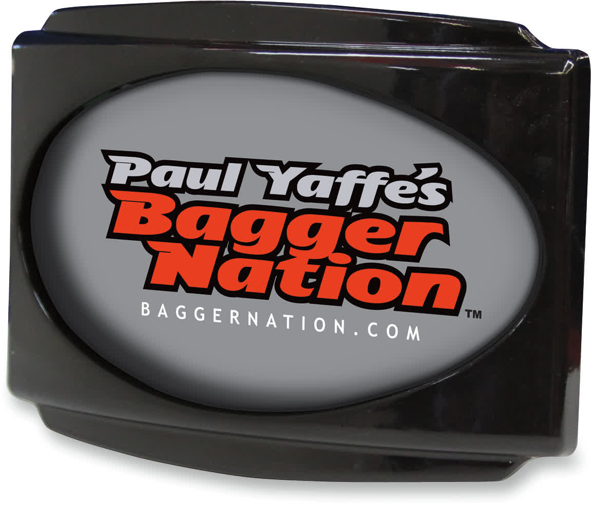 Paul Yaffe USLP3-B Cvo Universal Stealth Iii License Plate Frame Black