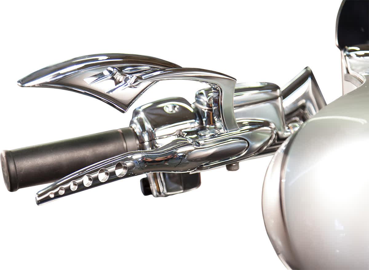 Paul Yaffe RL-08-C Racing Hand Levers Chrome