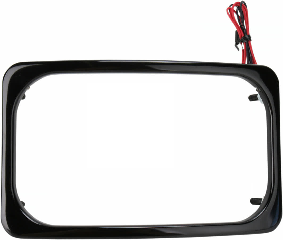 Paul Yaffe SLP2-B Stealth 2 License Plate Frame Frenched Box Kit Black