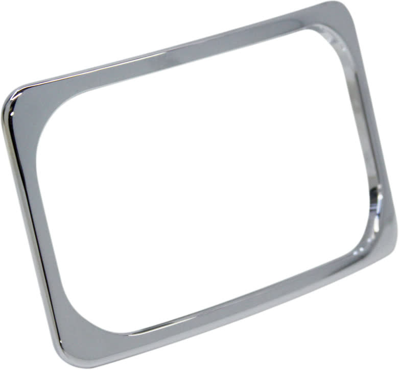 Paul Yaffe SLP2-C Stealth 2 License Plate Frame Frenched Box Kit Chrome