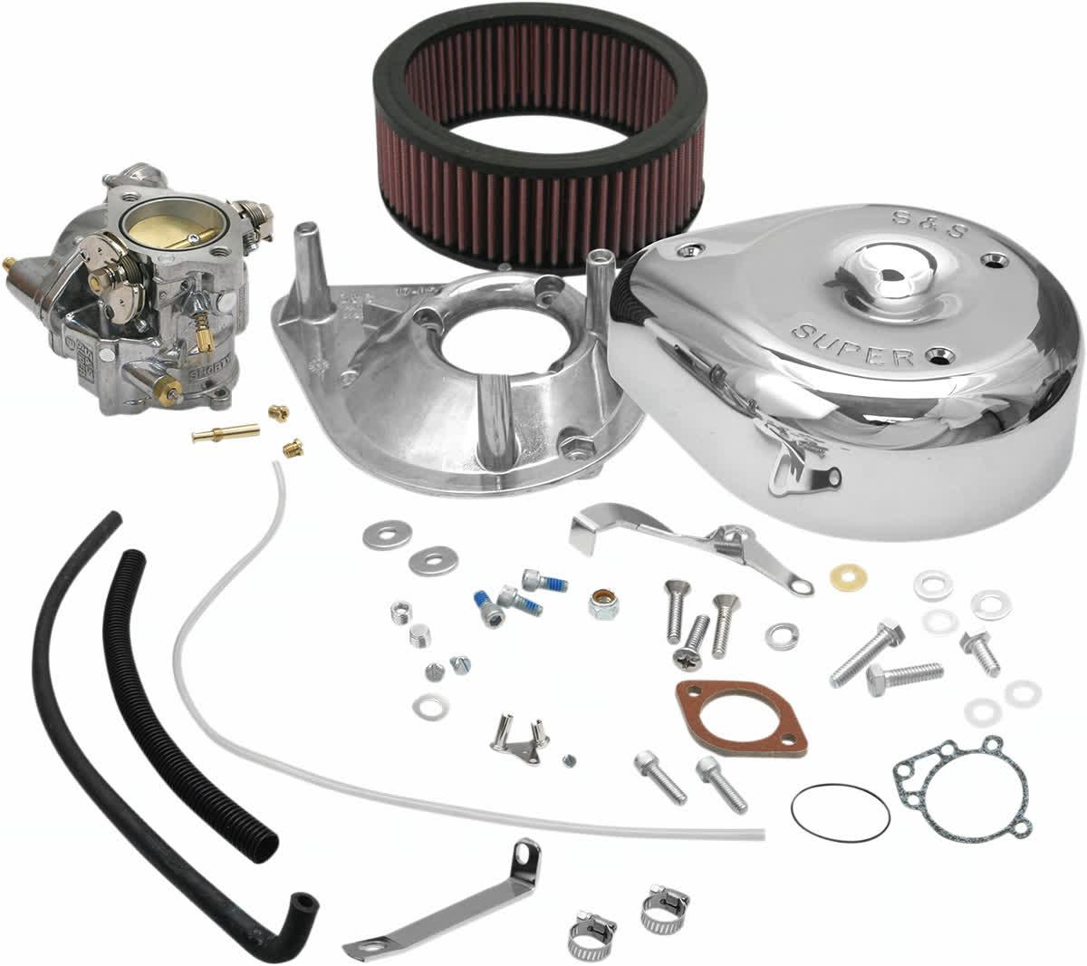 S&S Cycle 11-0418 Super E Shorty Carburetor Kit